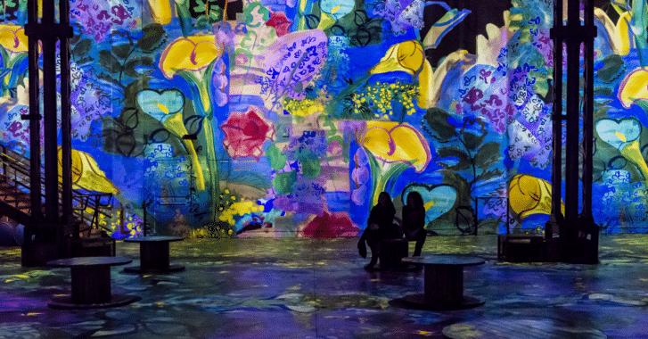 Activités insolite Paris / Atelier des lumières