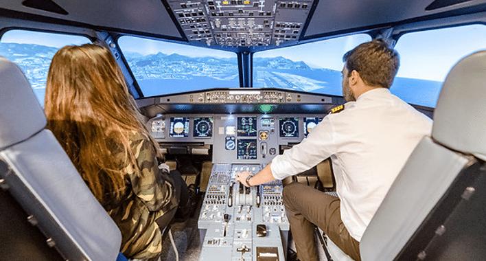 Activité Ile de France / Simulateur de vol